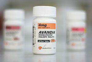 Авандія антідіабетік, ростіглітазон