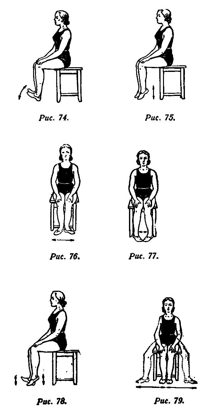 Вправи для зняття больових відчуттів
