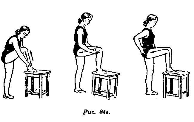 Вправи для зняття больових відчуттів 3